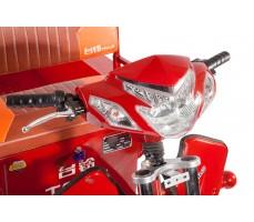 Фото переднего фонаря грузовой электрической тележки Муравей