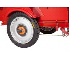 Фото колеса грузовой электрической тележки Муравей