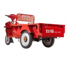 Фото грузовой электрической тележки Муравей вид сзади