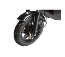 Грузовая электрическая тележка D1 Black переднее колесо