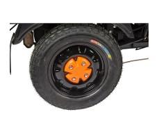 Грузовая электрическая тележка D2 Black заднее колесо