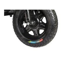 Грузовая электрическая тележка D4 Black переднее колесо