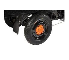 Грузовая электрическая тележка D4 Black заднее колесо