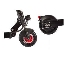 фото заднего и переднего колес электросамоката Eltreco Sound