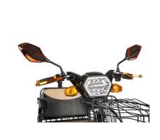 Трицикл S1 V2 с большой корзиной Black руль
