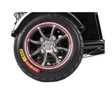 Трицикл S1 V2 с большой корзиной Black заднее колесо
