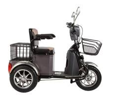 Трицикл S1 V2 с большой корзиной Gray