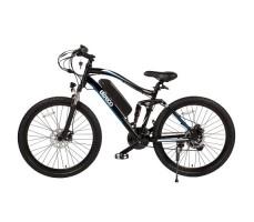 """Велогибрид Eltreco FS 900 26"""" Blue вид сбоку"""
