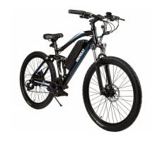 """Велогибрид Eltreco FS 900 26"""" Blue вид спереди"""