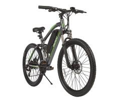 """Велогибрид Eltreco FS 900 26"""" Gray вид спереди"""