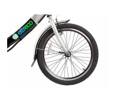 фото велогибрида Eltreco Good LITIUM 250W переднее колесо