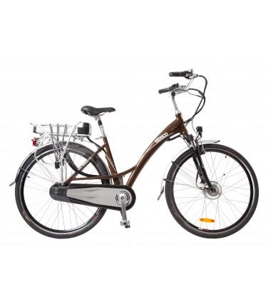 Велогибрид Eltreco Grand 700C коричневый | Купить, цена, отзывы