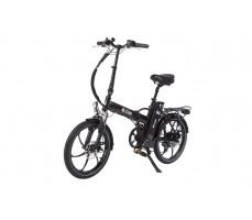 Фото велогибрида Eltreco JAZZ 500W Black вид спереди