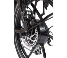 Фото колеса велогибрида Eltreco JAZZ 350W VIP Black