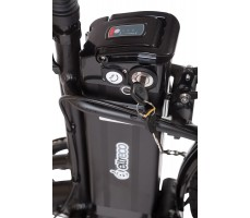 Фото батареи велогибрида Eltreco JAZZ 350W VIP Black