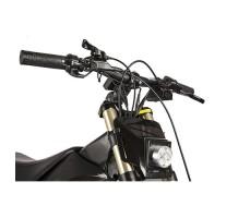 фото руля велогибрида Eltreco SPARTA NEW ЛЮКС Carbon