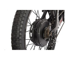 фото заднего колеса велогибрида Eltreco SPARTA NEW ЛЮКС Carbon