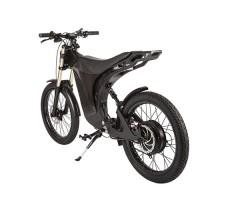 фото велогибрида Eltreco SPARTA NEW ЛЮКС Carbon сзади