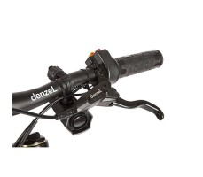 фото ручки руля велогибрида Eltreco SPARTA NEW ЛЮКС Carbon