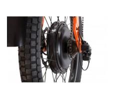 фото перекидки и кассеты велогибрида Eltreco SPARTA NEW ЛЮКС Orange