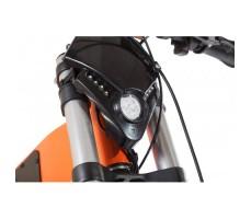 фото передней фары велогибрида Eltreco SPARTA NEW ЛЮКС Orange