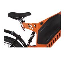 фото амортизатора и сидения велогибрида Eltreco SPARTA NEW ЛЮКС Orange