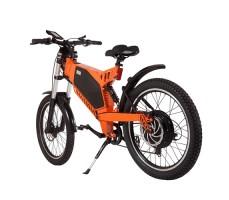 фото велогибрида Eltreco SPARTA NEW ЛЮКС Orange сзади