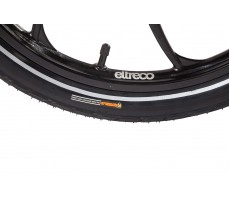 Фото покрышки  велогибрида Eltreco TT 500W Matt Black
