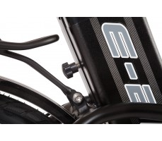 Фото фиксатора аккумулятора велогибрида Eltreco TT 500W Matt Black
