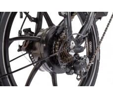 Фото мотора велогибрида Eltreco TT 500W Matt Black