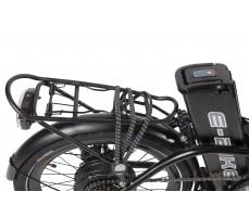 Фото багажника электровелосипеда Eltreco TT 500W Spoke Matt Black