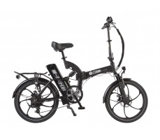 Велогибрид Eltreco TT 500W Spoke Matt Black