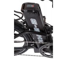 Фото батареи велогибрида Eltreco TT 500W VIP Matt Black