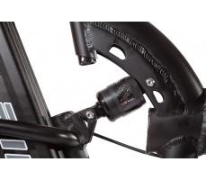 Фото заднего амортизатора велогибрида Eltreco TT 500W VIP Matt Black