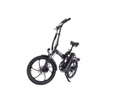 Фото велогибрида Eltreco TT 500W VIP Matt Black вид спереди