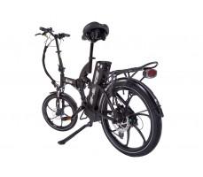 Фото велогибрида Eltreco TT 500W VIP Matt Black вид сзади