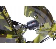 Фото заднего амортизатора велогибрида Eltreco TT 350W New Camouflage