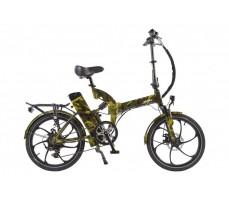 Велогибрид Eltreco TT 350W New Camouflage