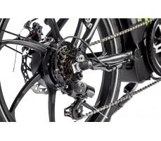 Фото колеса велогибрида Eltreco TT 350W Black