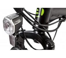 Фото переднего фонаря велогибрида Eltreco TT 350W Black
