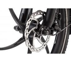 Фото переднего колеса велогибрида Eltreco TT 350W Grey
