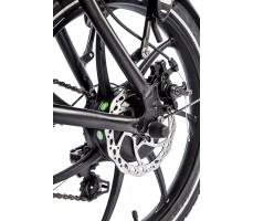 Фото заднего колеса велогибрида Eltreco TT 350W Grey