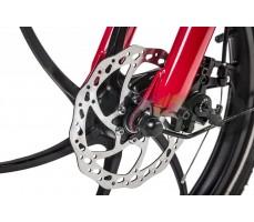 Фото переднего колеса велогибрида Eltreco WAVE 350W Red