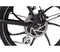 Фото заднего колеса велогибрида Eltreco WAVE 350W Gray