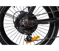 Фото мотор-колеса велогибрида Eltreco WAVE 500W Spoke Matt Black