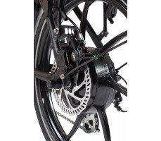 Фото мотор-колеса велогибрида Eltreco WAVE 350W VIP Gray