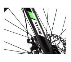 фото велогибрида Eltreco XT700 Black вилка