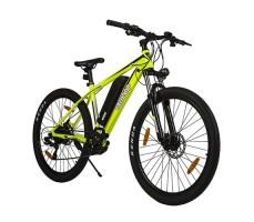 фото велогибрида Eltreco XT700 Yellow вид спереди