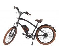 Фото велогибрида Leisger CRUISER CD5-600DA Black на стопоре