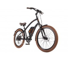 Фото велогибрида Leisger CRUISER CD5-600DA Black вид спереди